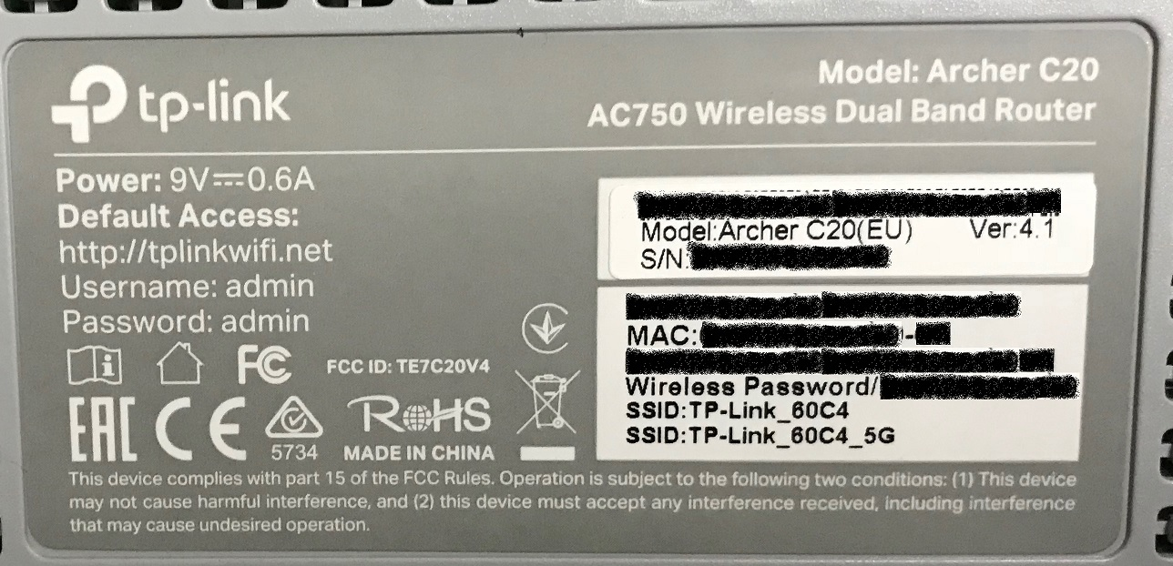 Playing with openwrt on TP-Link Archer C20 wifi router – My lil web
